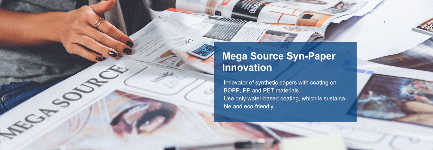Mega Source Syn-Paper Innovation